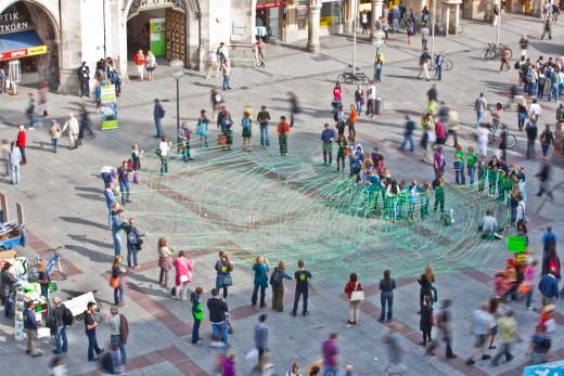 Mitmachen beim Grünen Faden am Marienplatz