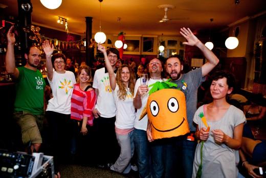 Carrotmob im Stragula, Foto: Green City e.V.