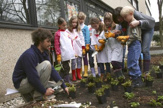Gruenpaten Kids, Jean Renoir, Grüne Schule, Green City e.V.