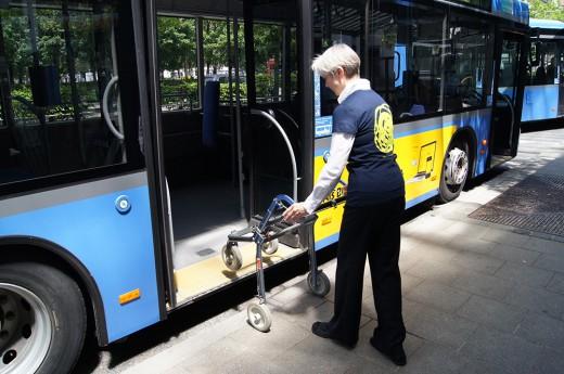 Sicher unterwegs mit U-Bahn, Bus und Tram, Foto: MVG
