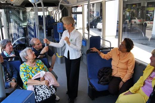 Sicher unterwegs mit U-Bahn, Bus & Tram, Foto: MVG