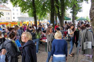 Open-Air: Kleidertauschparty auf dem Grünspitz