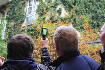 Klimaschutz am Eigenheim: Exkursion zu Münchens begrünten Gebäuden