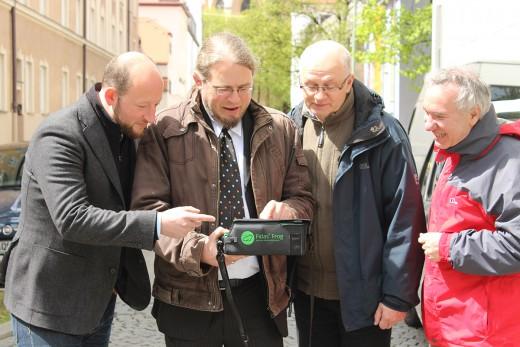 #MucOhneMief, Saubere Luft für Haidhausen, Pressekonferenz, Wanderbaumallee. Green City e.V., Foto: Amtmann
