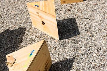 Grünspitz in drei Akten gestalten: Bauen