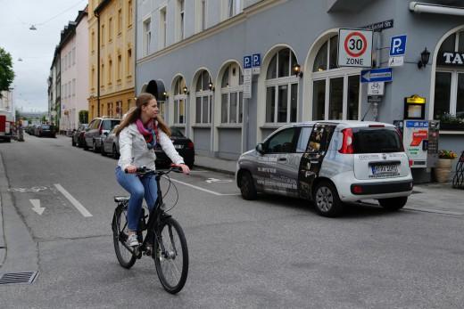 Greencity, Fahrradregeln, Foto: Bernadette Stöckl