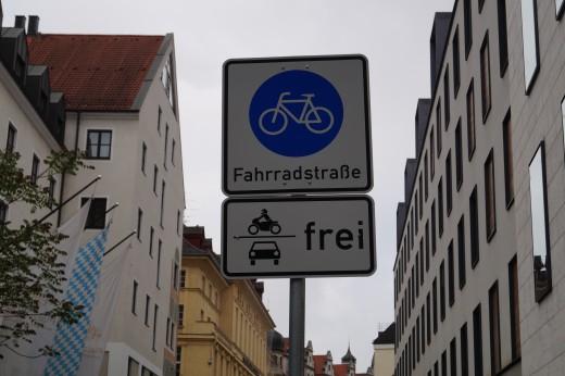Greencity, Fahrradregeln, Foto: Daniel Reitmeier