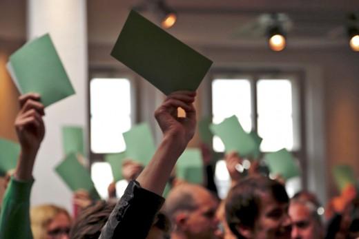 Green City, Mitgliederversammlung, Foto: Bernadette Stöckl