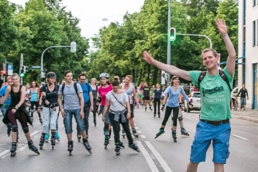 K2 Blade Night, Green City e.V., Foto: Andreas Schebesta
