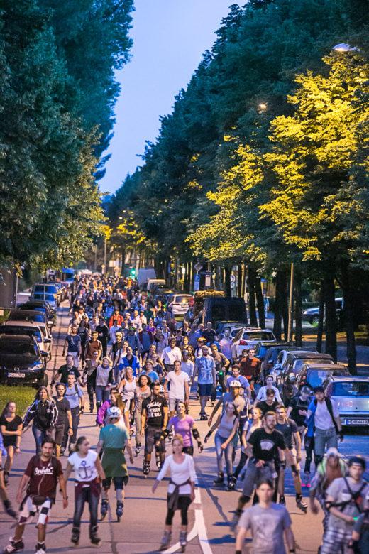 AOK BladeNight 2016 in München