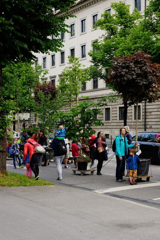 Green City e.V., Wanderbaumallee, Schwanthalterhöhe, Foto: Thomas Pawaserat