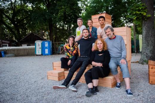 Den Grünspitz in drei Akten gestalten, Workshop III Bauen, Foto: Markus Hirner