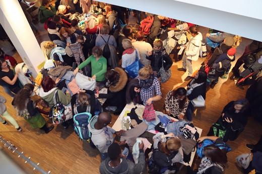 Kleidertauschparty, 2016, Foto: Bernadette Stöckl