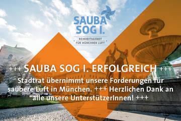 Münchner Bürgerbegehren 'Sauba sog i'