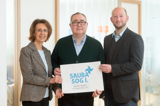 Bürgerbegehren Sauba Sog I, Green City  e.V., Foto: Tobias Hase