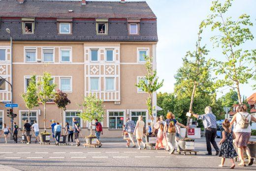 Wanderbaumallee, Green City e.V., Foto: Fabian Norden
