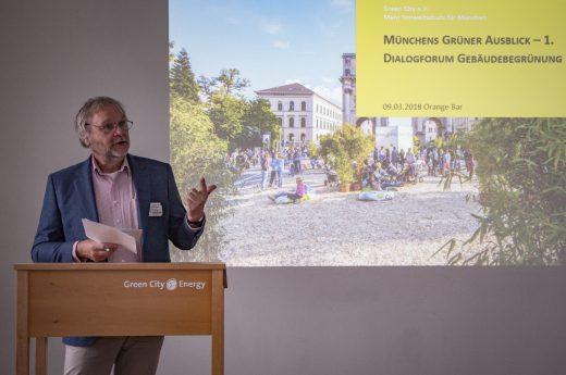 1. Dialogforum Gebäudebegrünung Begrünungsbüro 2018 Foto: Christa Schiffner, Green City e.V.