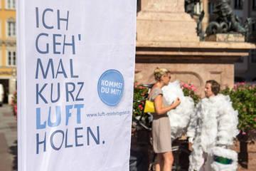 Wolkenradler begeisterte nicht nur die MünchnerInnen