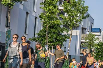Stadtspaziergang: Domagkpark – Begegnung und Aufenthaltsqualität im öffentlichen Raum