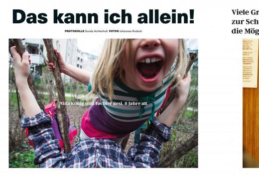 Green City LIfe, Ausgabe 1.2016, S22, Artikel: Das kann ich alleine