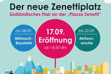 """Bunter Spätsommer und tolles Bühnenprogramm auf der """"Piazza Zenetti""""!"""