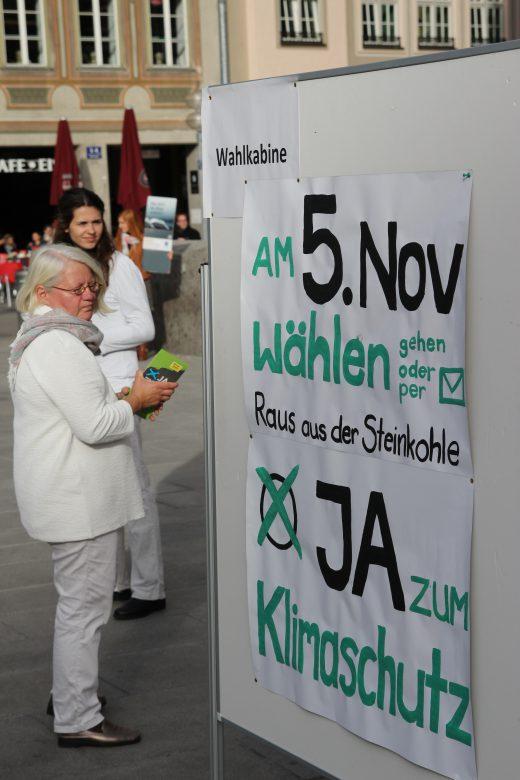 Raus aus der Steinkohle am Marienplatz, Foto: Sebastian Henkes