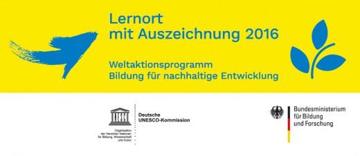 Logo BNE Lernorte, UNESCO