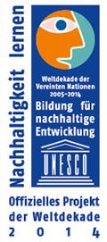 Auszeichnung_Logo_UN-Dekade-2014