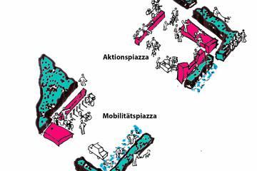 Lebensqualität statt Parkplätze! Den Zenettiplatz ab September 2018 ganz neu erleben!
