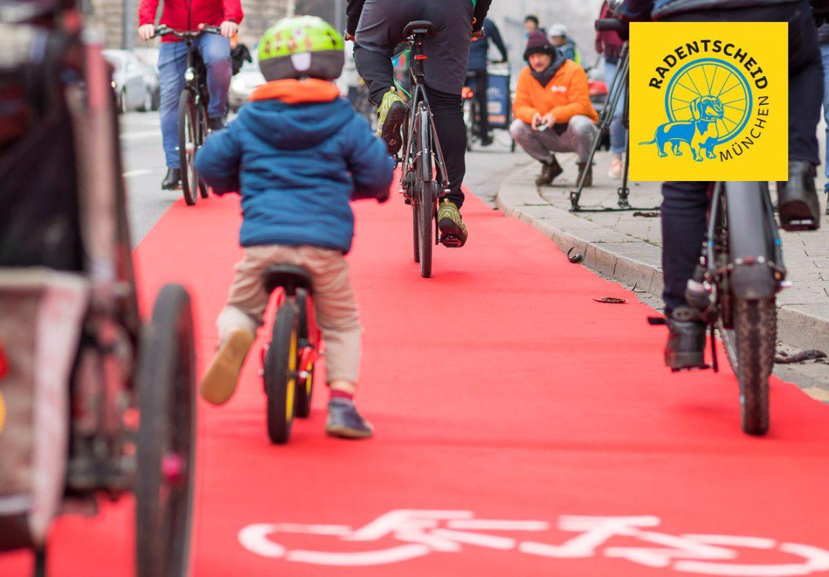 Demo Fur Kindersichere Radwege In Ganz Munchen Greencity E V