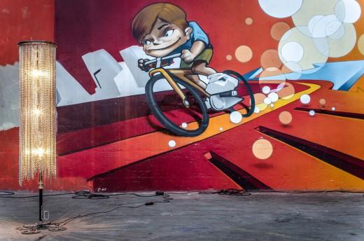 Graffitti, Radlbazi, RadlKULT 2016, Radlhauptstadt