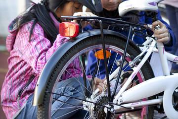 Gemeinsam ankommen – Radlschule für Geflüchtete