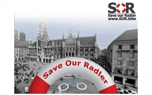 Titelbild Save Our Radler, SOR