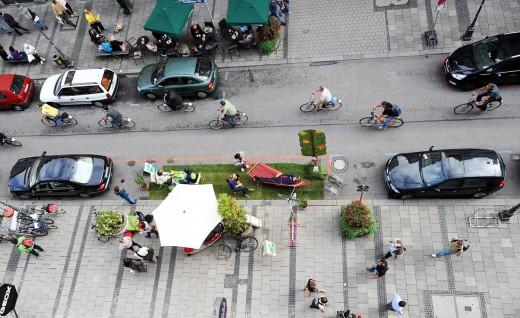 Park(ing) Day, Sendlingerstraße, Foto: Green City e.V.